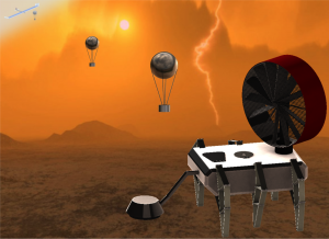 Mechanical Machine To Navigate Venus