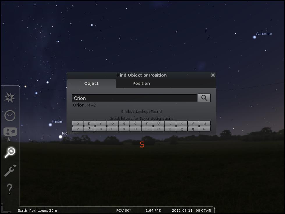 stellarium-search